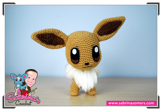 Amigurumi Pokemon Eevee : Sabrinas Crochet - Eevee (Pokemon)