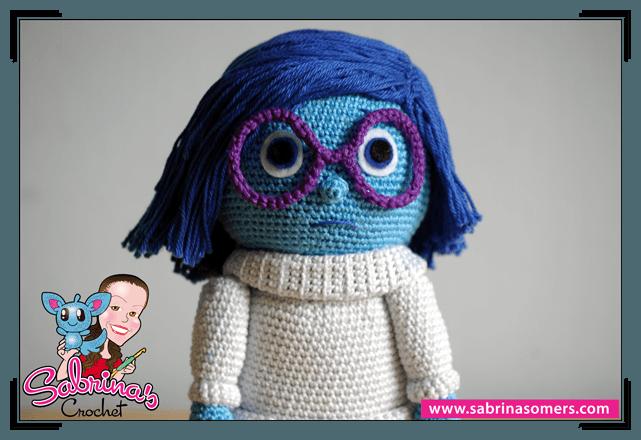 Inside Out Amigurumi Patterns : Sabrinas Crochet - Free amigurumi crochet pattern Sadness ...